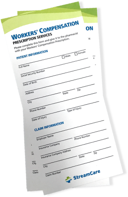 Workers' Compensation Rack Card